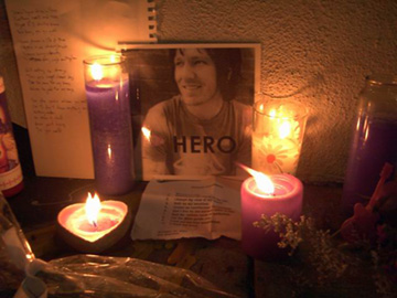 Elliott Smith shrine