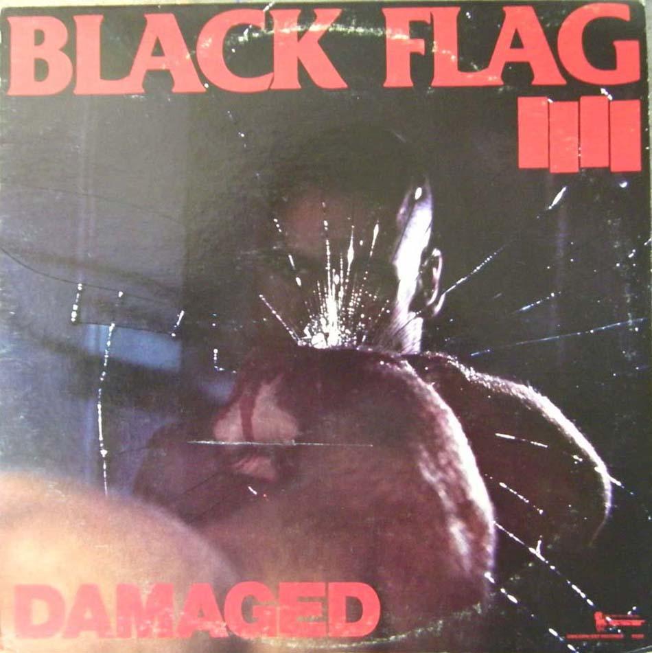 Black Flag Damaged