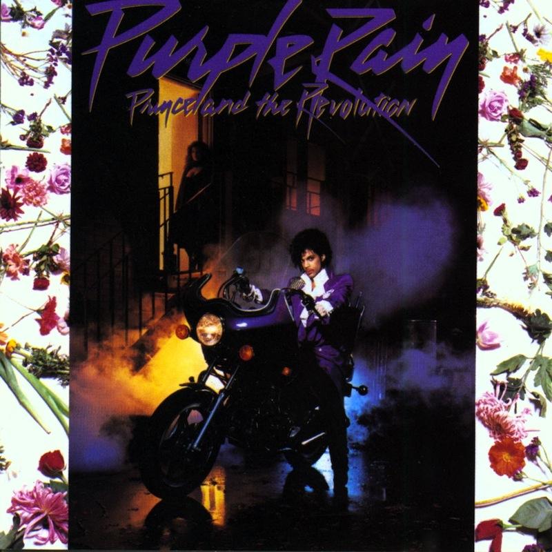 color albums purple rain
