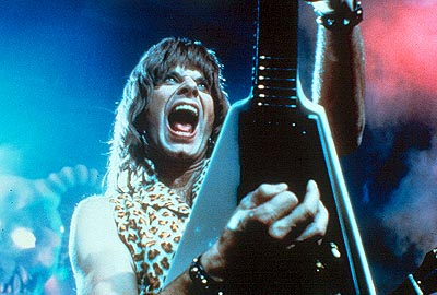 Nigel Tufnel of Spinal Tap, shredding