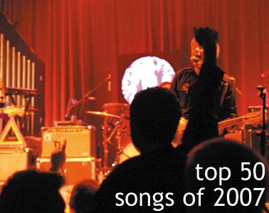 Top 50 Songs of 2007