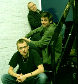 Blur in a stairwell