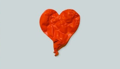 Kanye West's sad robot heart.