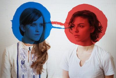 Amber Coffman and Angel Deradoorian of Dirty Projectors