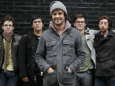 Passion Pit, in their winter best.