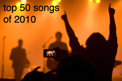 top 50 songs of 2010