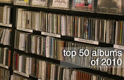 Treble's Top 50 Albums of 2010