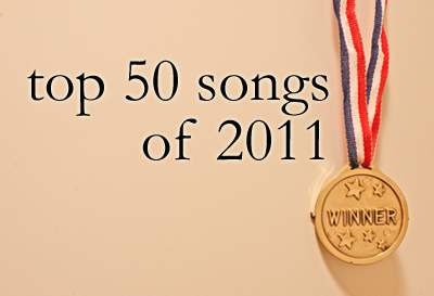 top 50 songs of 2011