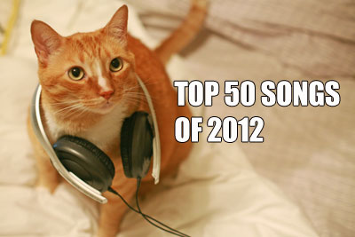 Treble's Top 50 songs of 2012
