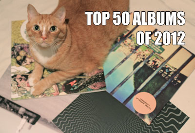 Treble's Top 50 Albums of 2012