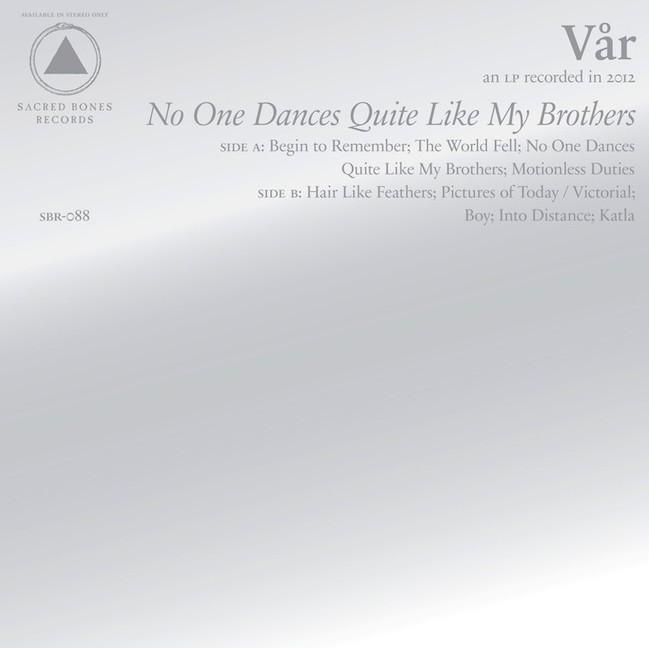 Var - No One Dances