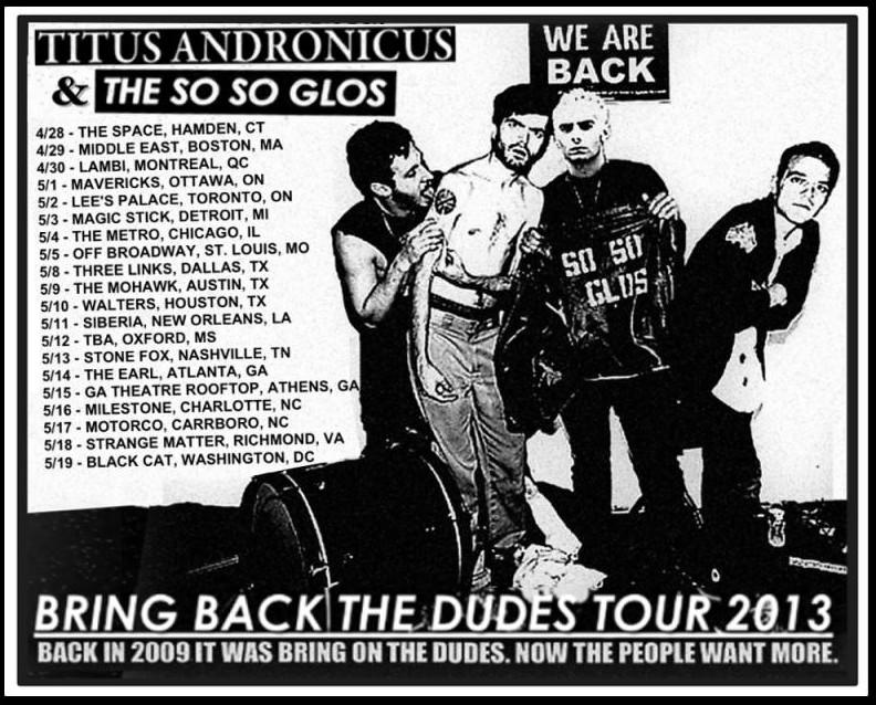 Titus Andronicus tour