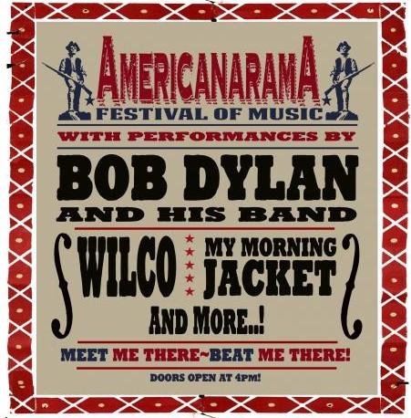 Americanarama tour poster