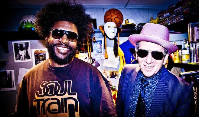 Elvis and ?uestlove