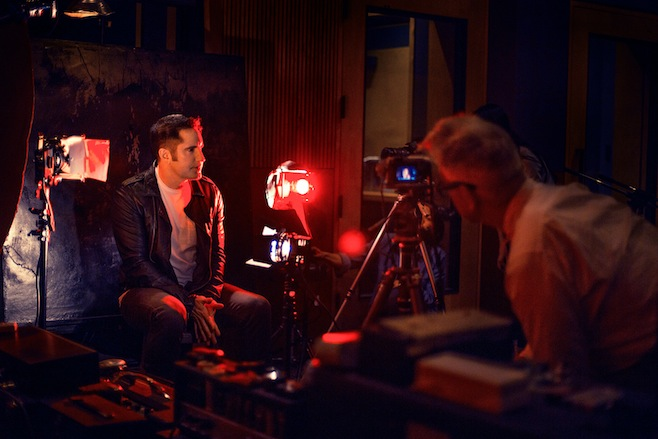 Nine Inch Nails behind the scenes
