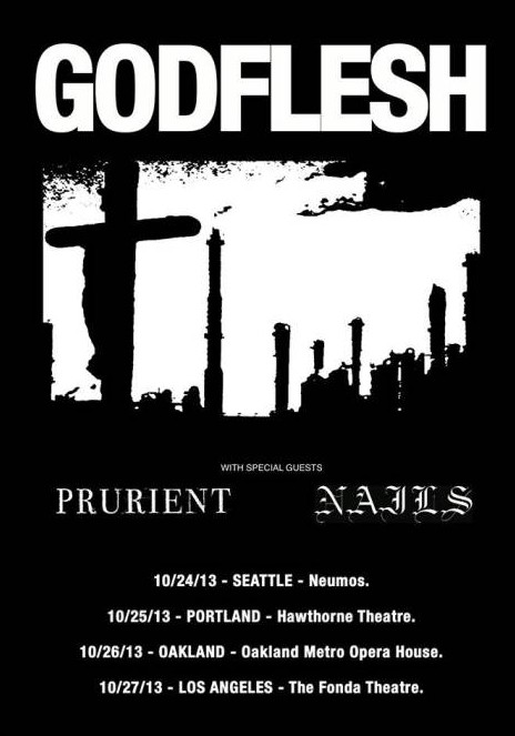 Godflesh tour dates