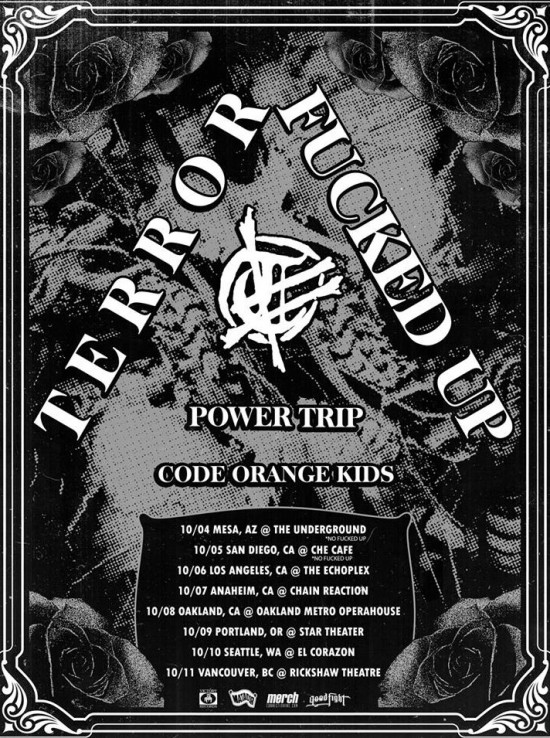 Fucked Up tour