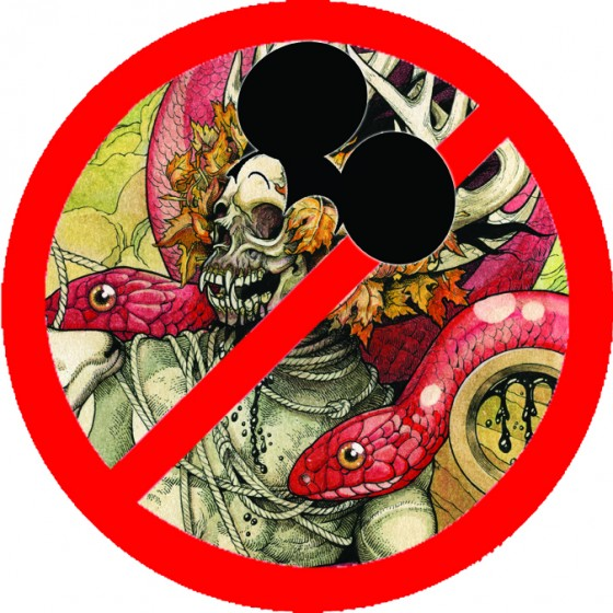Skeletonwitch not welcome at Disney