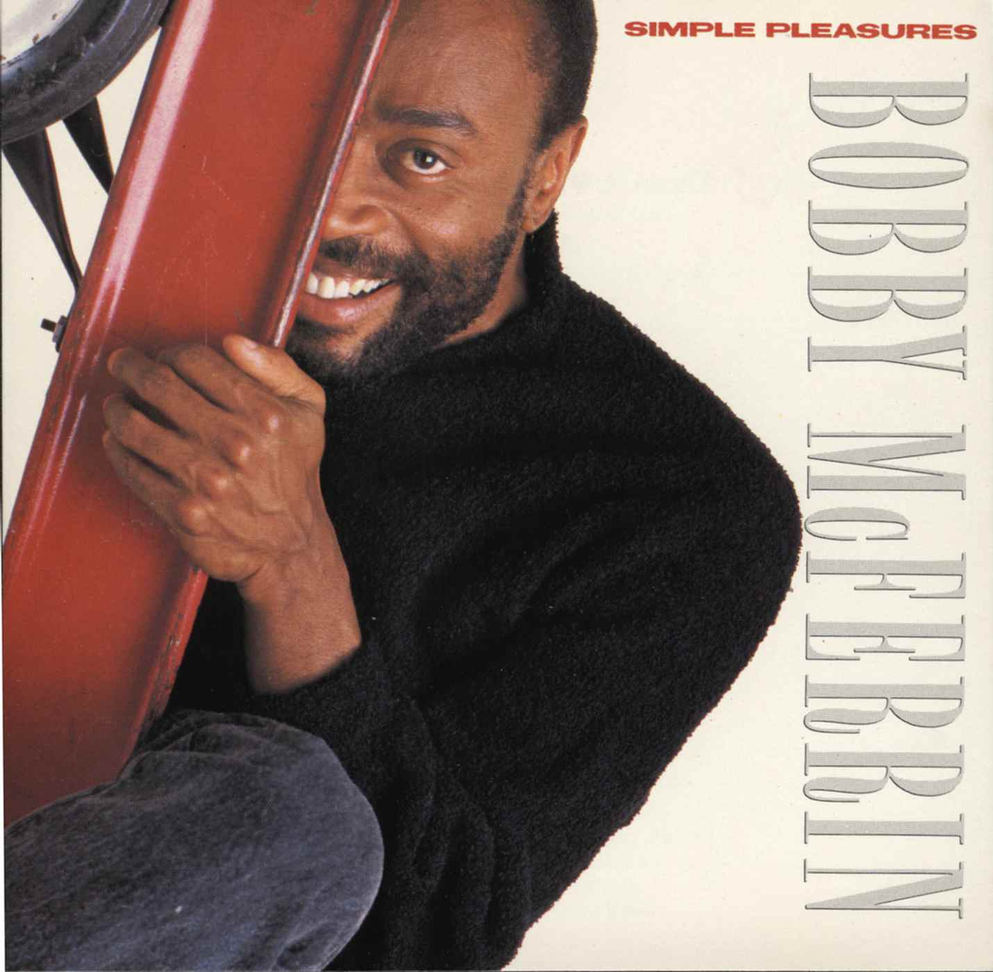Bobby McFerrin - Simple Pleasures cover front