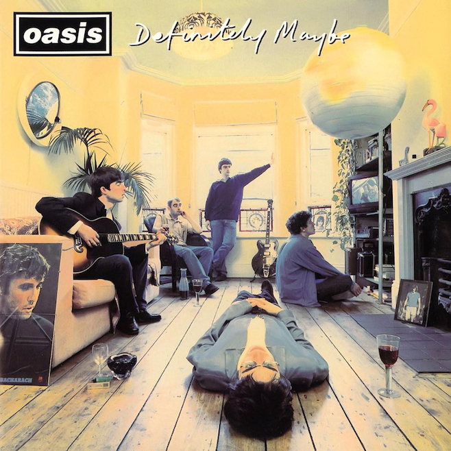 Oasis Definitely Maybe reissue
