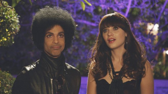 Prince and Zooey