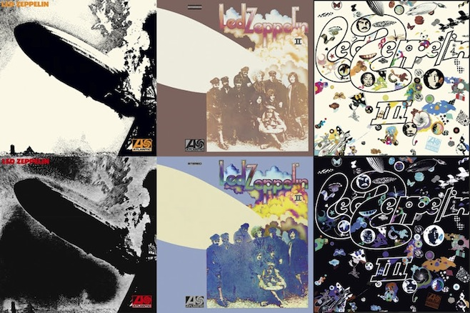 Led Zeppelin reissues