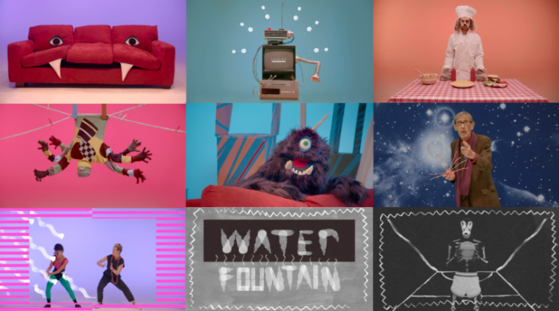 tune-yards water fountain video