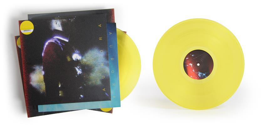 Ben Frost Aurora vinyl