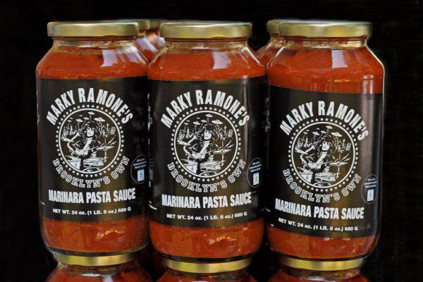 Marky Ramone pasta sauce