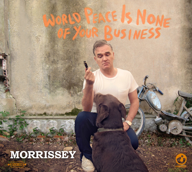 Morrissey World Peace is None of Your Business