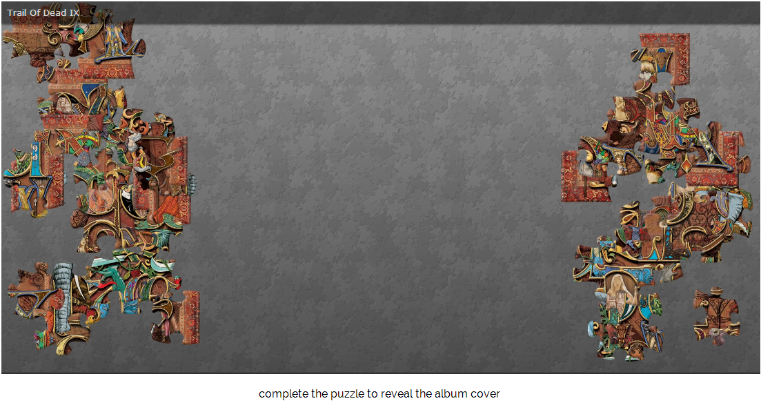 Trail of Dead new album puzzle