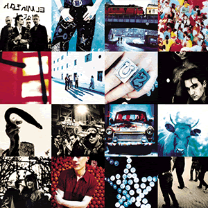 albums produced by Brian Eno U2 Achtung Baby