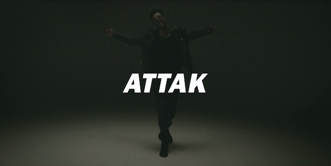 Rustie Attak video