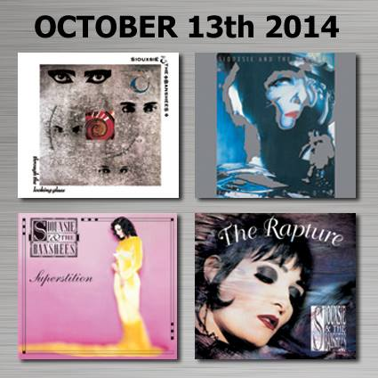 Siouxsie and the Banshees reissues
