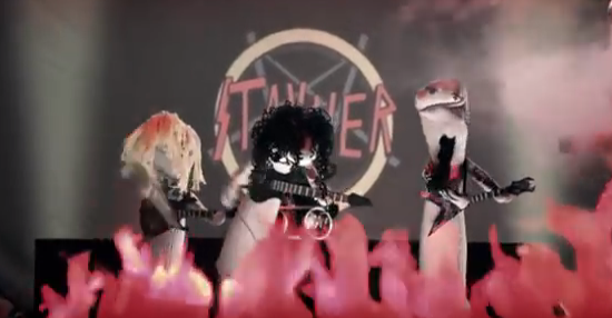 Slayer sock puppet tribute band