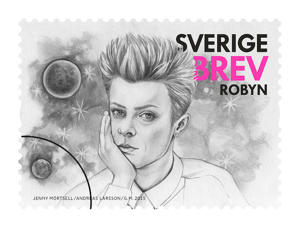 Robyn postage stamp