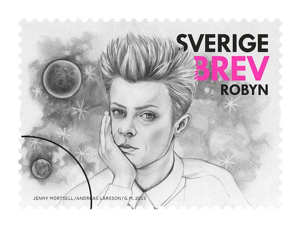 Robyn postage stamp