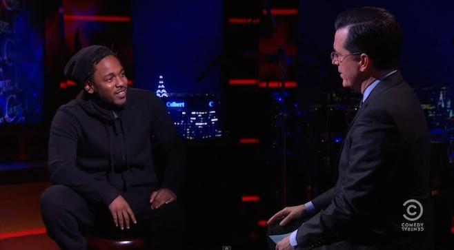 Kendrick Lamar colbert