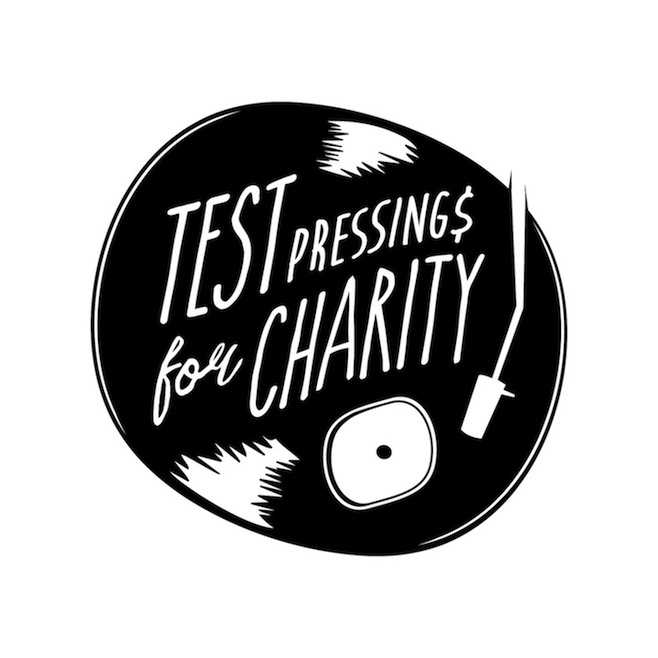 test pressings for charity