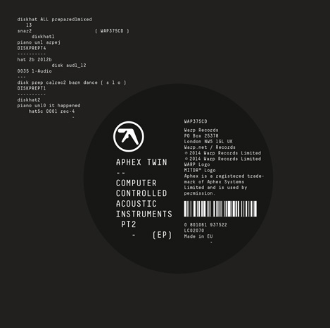 Aphex Twin new EP
