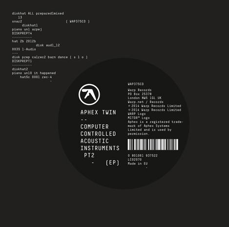 Aphex Twin new EP