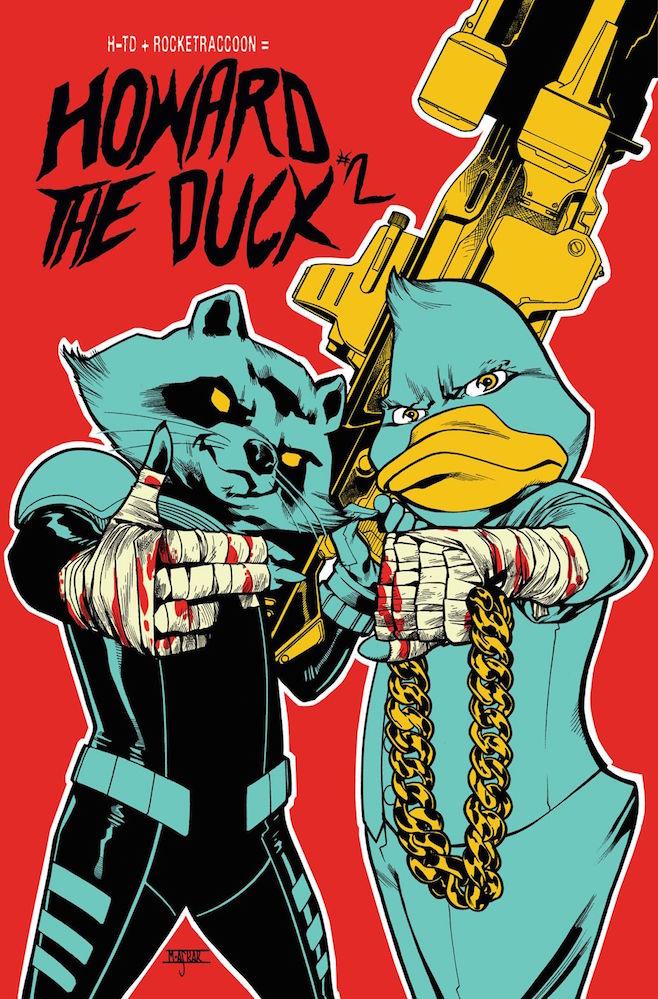 Run the Jewels comic Howard the Duck