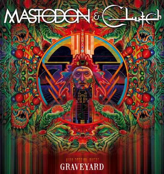 Mastodon tour dates