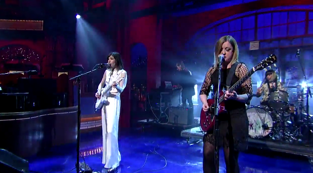 Sleater-Kinney on Letterman