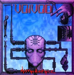 Voivod albums Nothingface