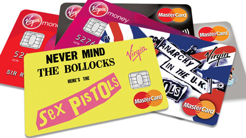 Sex Pistols credit cards