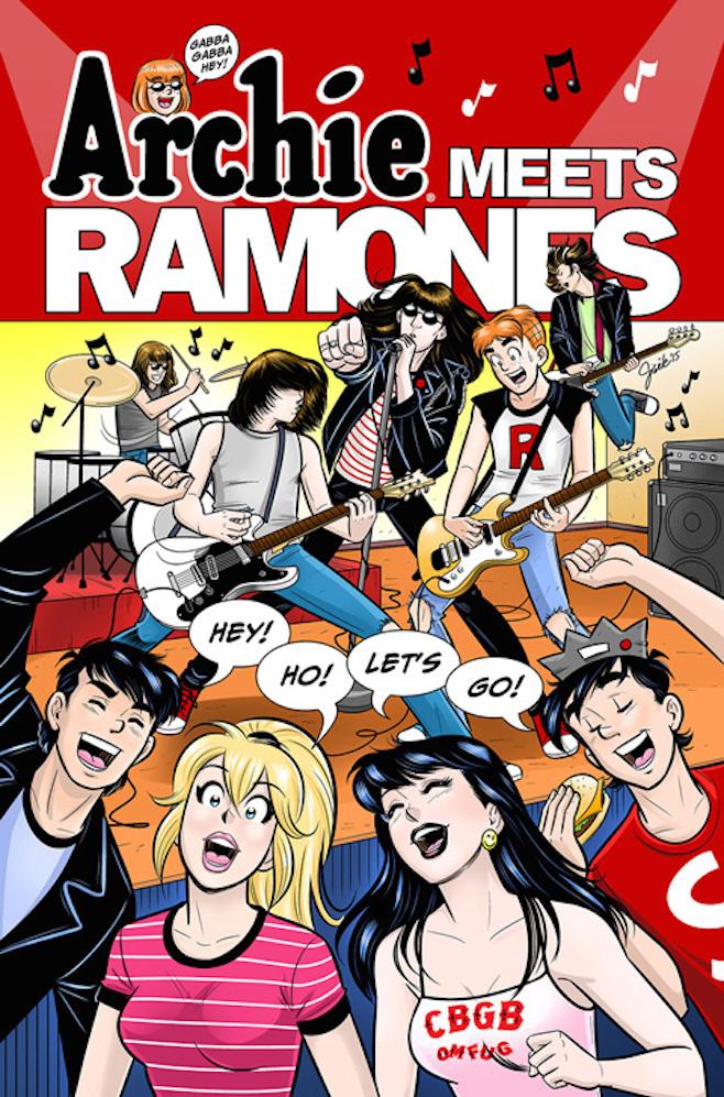 Ramones comic