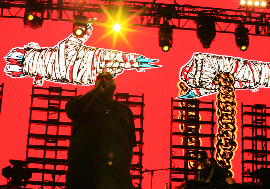 Run the Jewels live at FYF Fest 2015
