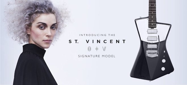 St. Vincent signature guitar
