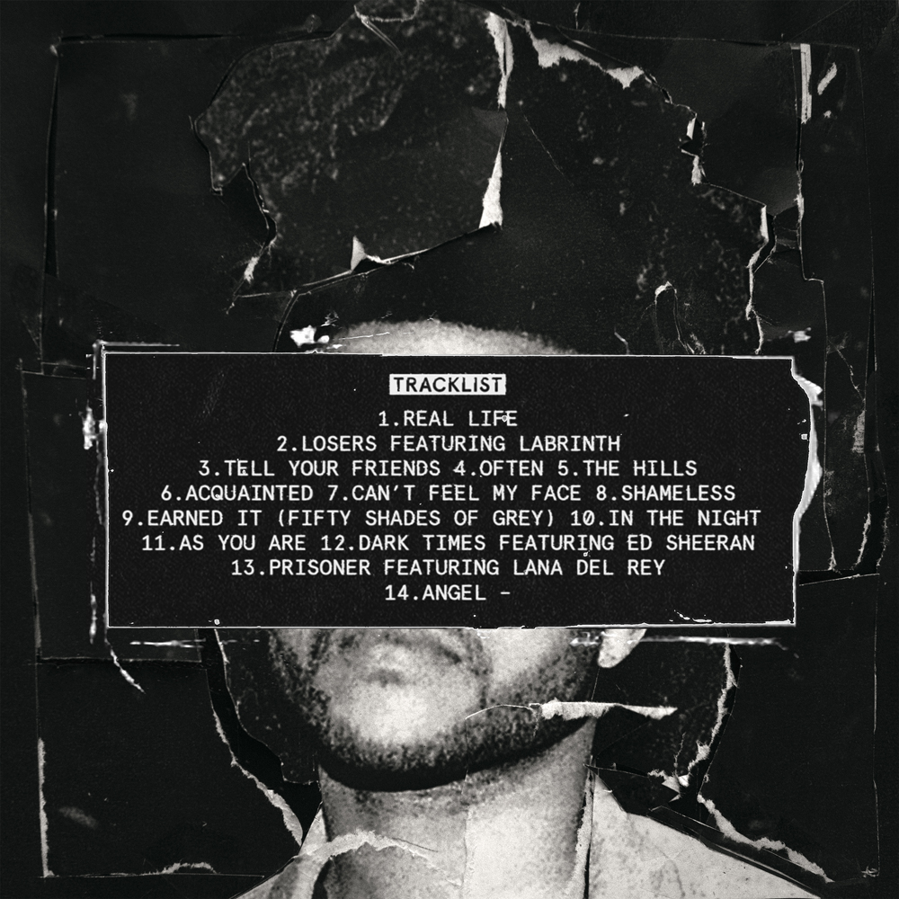 Beauty Behind the Madness tracklist